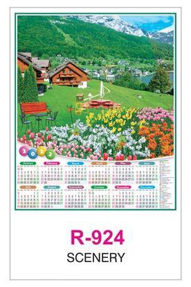 R924 Scenery RealArt Calendar Print 2022
