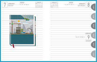 P3609  Diary print 2022
