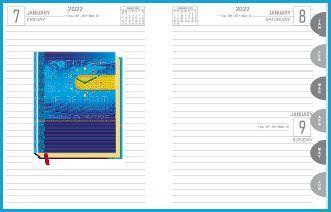 P3624  Diary print 2022