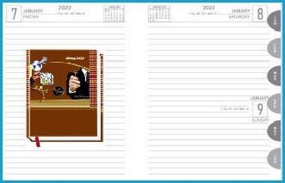 P3625  Diary print 2022