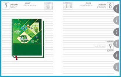 P3626  Diary print 2022