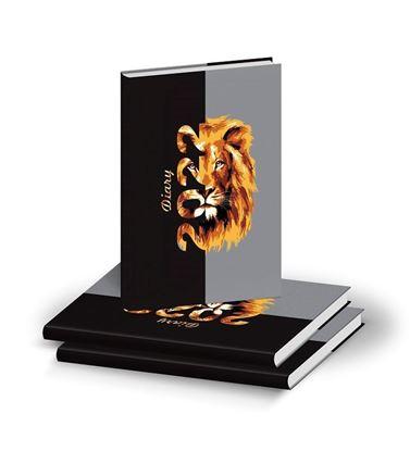 D3007 Lion Eye Diary print 2022
