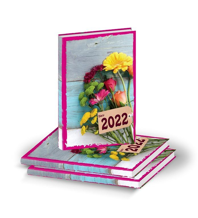 D3009 Pinky Floral Diary print 2022